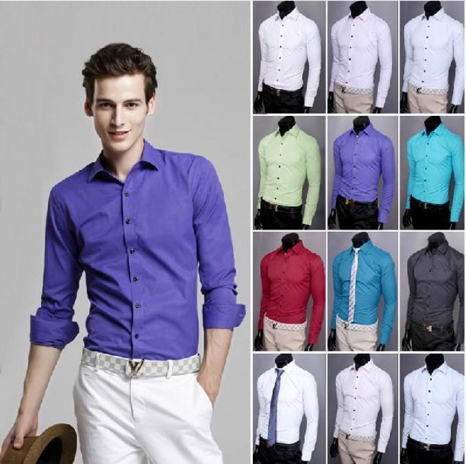 Модные цвета рубашек