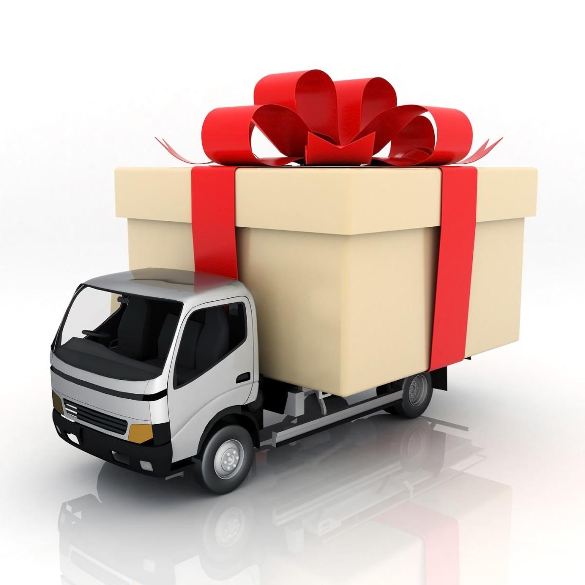 Курьер доставка новогодних подарков