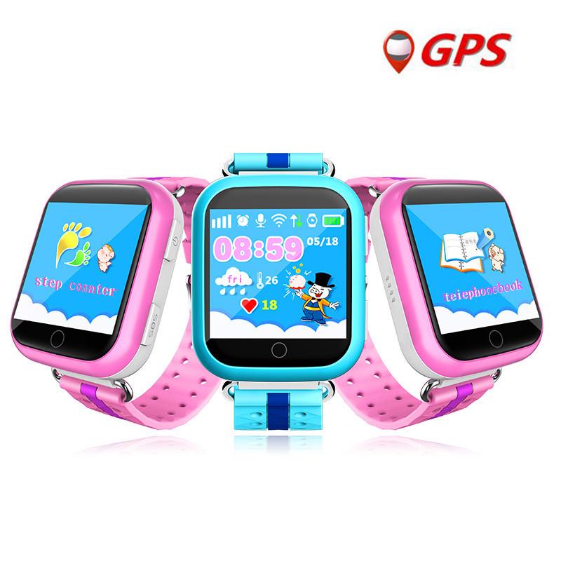 Детские умные часы android с GPS Smart Baby Watch Q200 с камерой 2 Mp (3G) 3cfb395d379c0